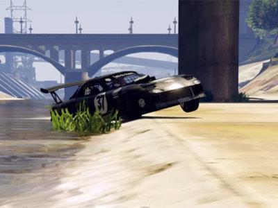 Esta recreación de Gymkhana 7 en el GTA V es una auténtica locura (vídeo)