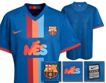 Camiseta del Barcelona en edición limitada para el trofeo Joan Gamper