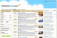 DestinoHotel, búsquedas y comparaciones de ofertas de hoteles