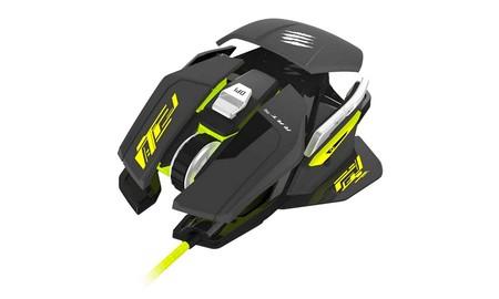 Esta semana, puedes renovar tu ratón gaming con el MadCatz R.A.T. Pro S que PCComponentes tiene a 44,95 euros