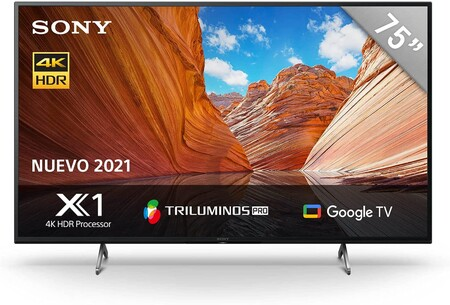 Televisión Sony 4K en promoción con Amazon México