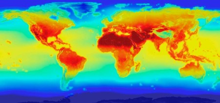 Mapa Temperaturas Nasa 2100