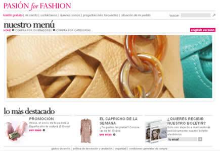 Pasión for Fashion, boutique multimarca nacional
