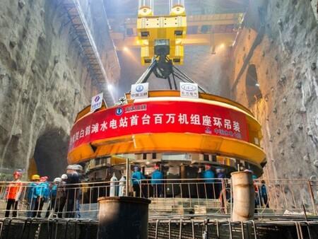 Baihetan Hydropower Project Image 01
