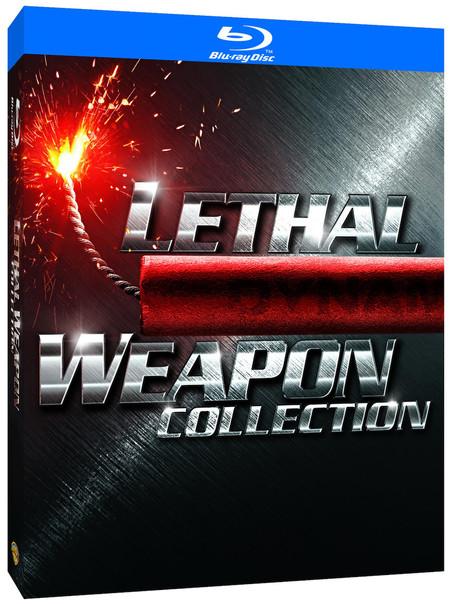 Colección con las cuatro películas de la saga Arma Letal, en Blu-ray, por 11,79 euros