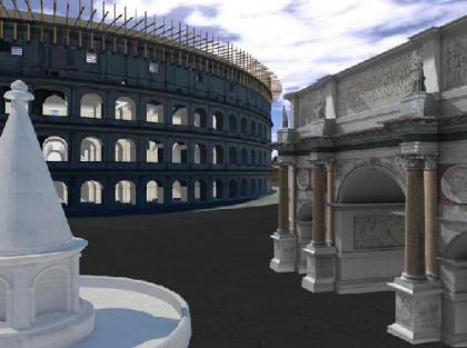 La Roma antigua, ahora totalmente digital