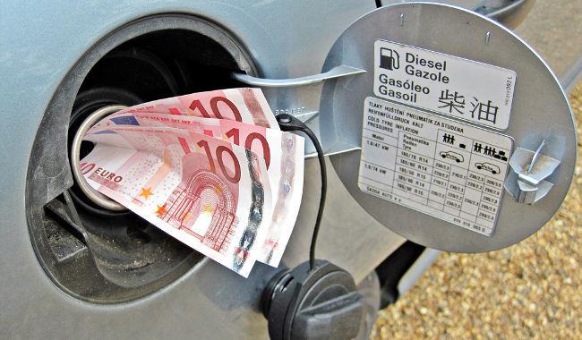 Euros para el depósito