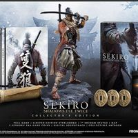 La sensacional estatua de la Sekiro: Shadows Die Twice Collector's Edition al detalle en dos unboxings
