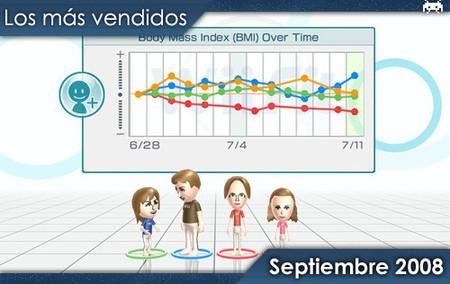 Los juegos más vendidos en España - Septiembre 2008