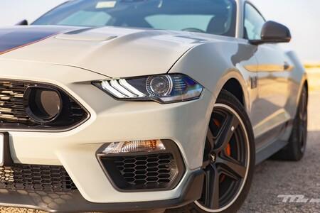 Ford Mustang Mach 1 2021 Prueba 044