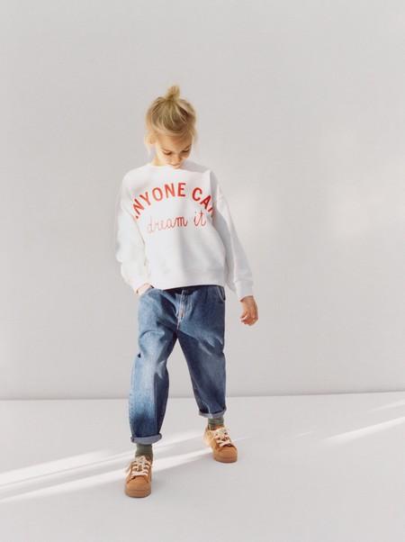 Las sudaderas de niña de Zara Kids más bonitas del momento que podrías ponerte desde ahora mismo
