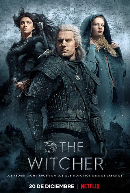 The Witcher Poster Oficial Netflix