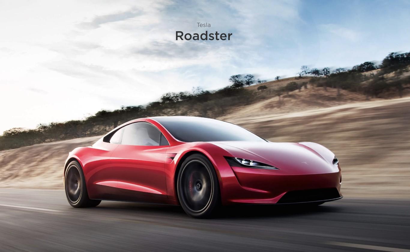 Así de impresionante se ve y se escucha cuando un Tesla Roadster hace el 0 a 100 km/h en sólo 2,1 segundos