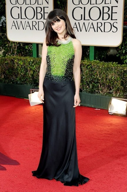 zooey deschanel gg 2012