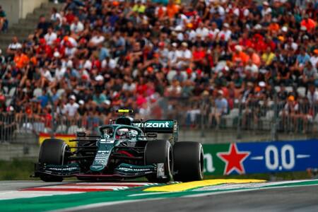 Vettel Austria F1 2021