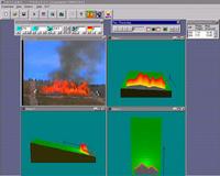 Un sistema de monitorización de incendios forestales diseñado por científicos españoles