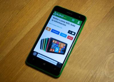 Nokia Lumia 625, análisis
