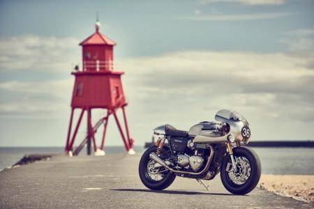 Triumph Thruxton BIT2 Café Racer, la joya de la corona