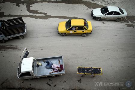 No se podía conocer el ganador del Premio Internacional de Fotografía Humanitaria Luis Valtueña 2013 porque estaba secuestrado