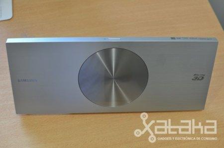 """Samsung D7500, probamos el Blu-Ray más """"sexy"""""""