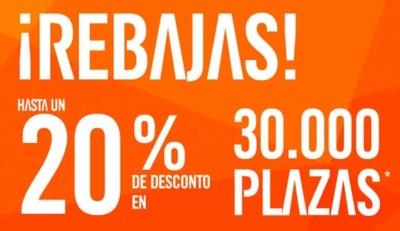 easyJet: hasta un 20 % de descuento en 30.000 billetes desde o hacia España ¡Empiezan hoy!