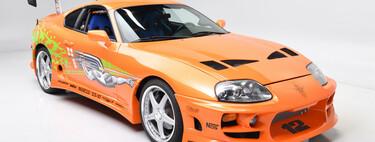 Alguien pagó el equivalente a 11.2 millones de pesos por el Toyota Supra de Fast and Furious