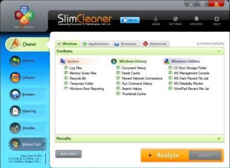 SlimCleaner 2.0, optimiza tu equipo aprovechando la inteligencia social