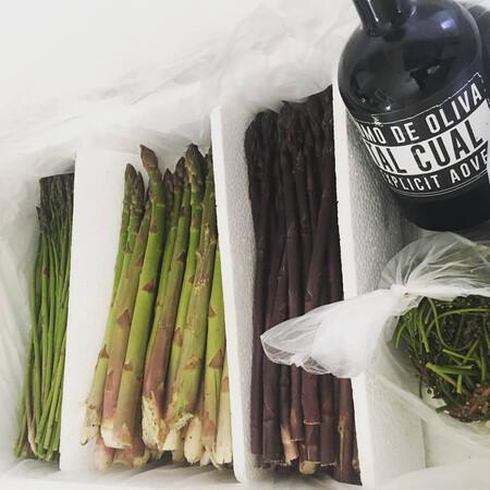 Pack Experience Con Varios Tipos De Esparragos Y El Aceite Tambien De Su Finca C Green Asparagus Coop