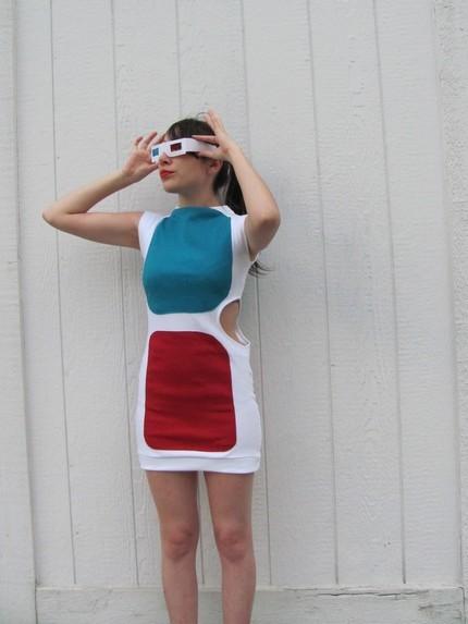 Foto de Un vestido con forma de gafas 3D (1/5)