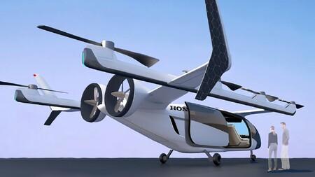 Honda se atreve... ¡con taxis voladores! Está desarrollando uno eléctrico y otro híbrido para viajes largos