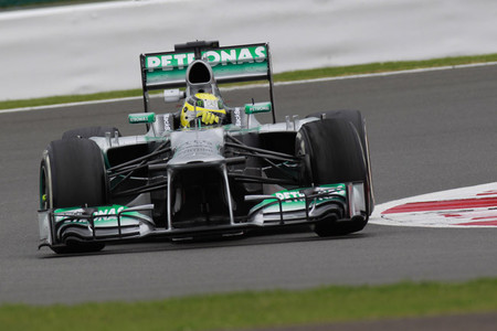 Nico Rosberg vence en un Gran Premio Gran Bretaña marcado por los Pirelli
