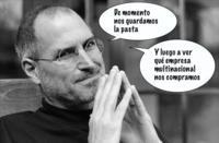 """Steve Jobs: """"Apple debe pensar a lo grande con 40 mil millones en sus arcas"""""""