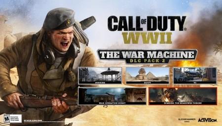 Call of Duty: WWII se ampliará el 10 de abril con La Máquina de Guerra, su segundo DLC que incluirá todo esto