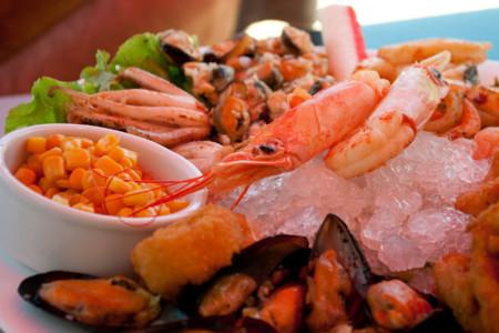 Crustáceos y mariscos: buenas fuentes de calcio