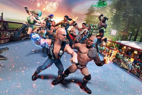 Análisis de WWE 2K Battlegrounds: la brutalidad del Pressing Catch con todo lo malo de ser una entrega menor