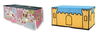 Manteles de fantasía: tu propio castillo en la mesa