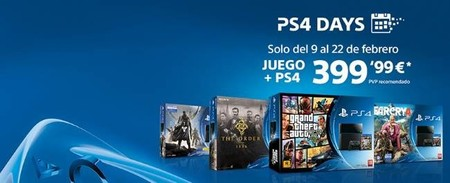 Arrancan los PS4 Days con muchos packs jugosos