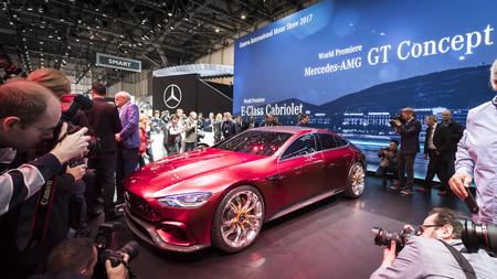 Mercedes-AMG GT Concept: el cuatro puertas de la familia GT le pisa los talones al Panamera ¡con 805 CV!