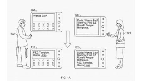Ejemplo en la patente de Google