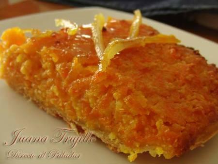 Pastel del zanahoria
