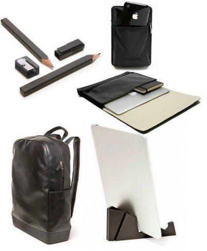 Colección de accesorios de escritorio de Moleskine: de negro riguroso