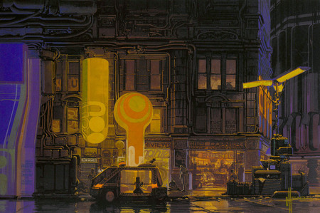 Syd Mead Ii 3 Original