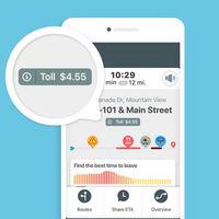 Waze empieza a mostrar el precio de los peajes en su app, primero en Estados Unidos y Canadá