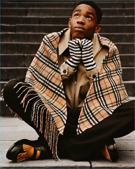 Burberry Fall Winter 2017 Campaign Montell Martin