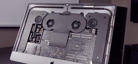 La memoria SSD y la RAM del iMac Pro pueden ampliarse según el despiece de OWC