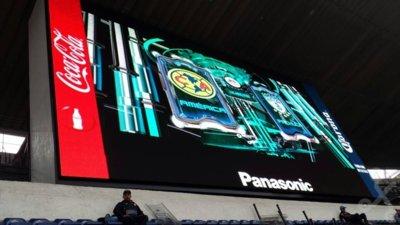 Así son las nuevas pantallas gigantes del Estadio Azteca cortesía de Panasonic