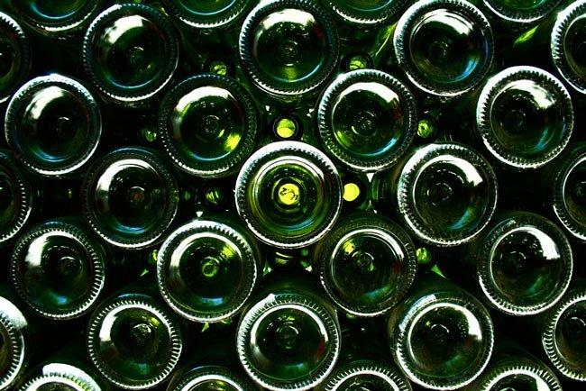 La botella de vino el tama o importa - Botelleros de vino ...