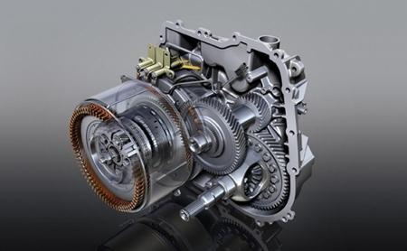Motor eléctrico, generador y transmisión Voltec