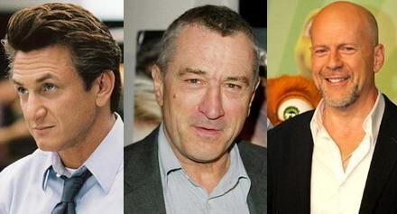 Robert De Niro, Sean Penn y Bruce Willis en el nuevo film de Barry Levinson