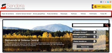 Senderia: rutas, excursiones y senderos por el Sistema Central